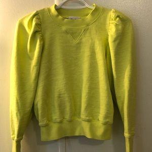 Little moon neon cropped sweater
